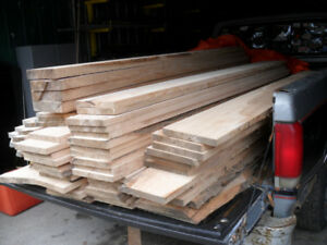Rough Sawn White Ash Boards