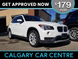 2014 BMW X1  $179B/W w/Leather, PanoRoof, BlueTooth. DRIVE HOME