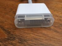Apple dvi to dvi adapter male to female new