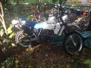 KLR for fix up or parts