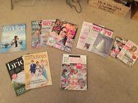 Various Wedding magazines