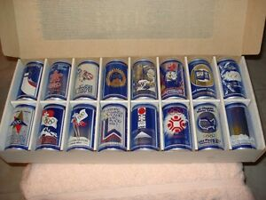 Olympic Winter Games Collector Can Series