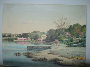 Oil Painting by W.F. Snow