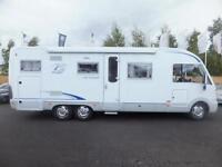 burstner elegance i821 four berth motorhome for sale
