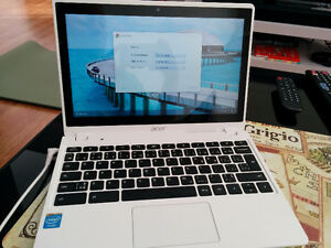 "ACER 11.6"" TOUCHSCREEN CHROMEBOOK"