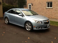 2012 Chevrolet Cruze Rs package Sedan
