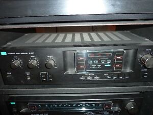 SANSUI integrated stereo amplifier A-550