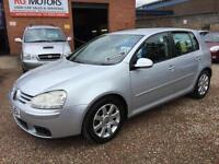 2005(55) Volkswagen Golf 2.0 GT TDI 140 6sp Silver 5dr Hatch, **ANY PX WELCOME**