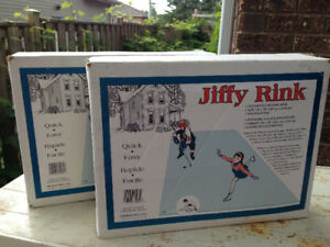 2 Jiffy Rinks NEW, in original boxes