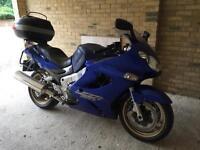 Kawasaki ZZR1200 Blue 2004
