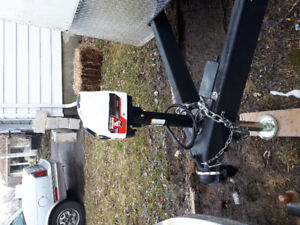 7' x 14' enclosed Miska trailer like new condition