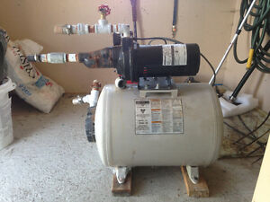 3/4 HP jet pump with pressure tank