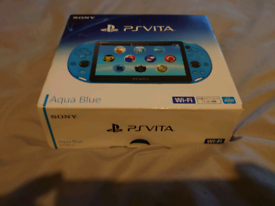 Ps vita aqua blue 8gb