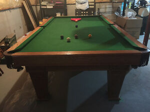 5x9 Slate Snooker Table Cliff Thorburn Edition
