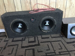 10 Inch JBL subs and 6x9 speakers forsale
