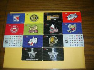 14 2014/15 OHL/NHL Tim Hortons Tim Cards $15