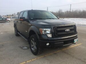 2013 ford f-150 supercrew fx4 with a warranty