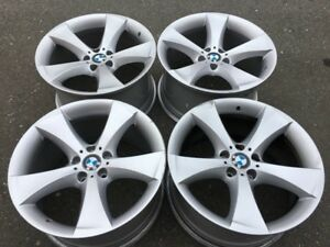 "GENUINE BMW X5 X6 20"" Rims style 259 20X10 and 20x11 nice Shape"