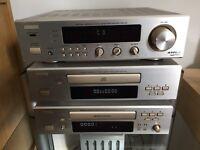 Denon DRA F-100 stereo component system