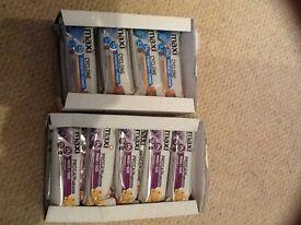 Maxi nutrient bars x2boxes