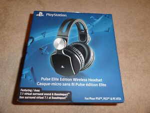PLAYSTATION PULSE ELITE EDITION WIRELESS HEADSET