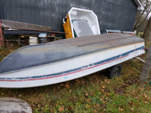 3 aluminum boats for sale.
