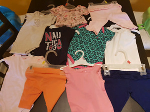 Girls nb-3 months lot 31 items