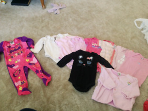 45 piece 6-12 month baby girl lot