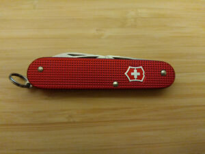 Victorinox Alox Red Cadet Swiss Army Knife