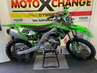 2021 KAWASAKI KXF 450....10 HOURS FROM NEW....£6595....MOTO X CHANGE