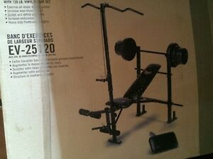 Weight Bench - EverLast with Weights