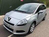 Peugeot 5008 1.6 HDI FAP 110 Active Good / Bad Credit Car Finance (silver) 2010