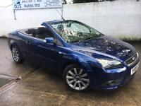 Ford 2008 Focus Coupe 2.0 Petrol Manual Convertible in Blue