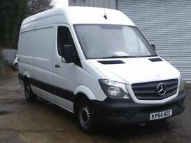 Mercedes-Benz Sprinter 313 Cdi DIESEL MANUAL WHITE (2014)