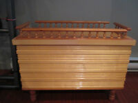 Coffre en pin & cèdre / Pine & Cedar Chest