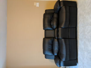 Modern recliner sofa with centre storage plus loveseat!