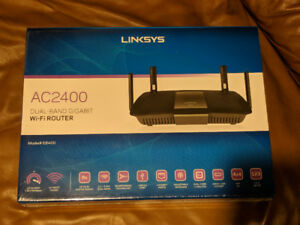 Linksys AC2400 dual band gigabit router