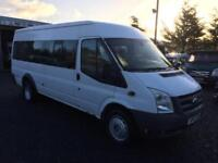 Ford TRANSIT 17-SEATER T350 115 RWD direct from Fife council only 50275 miles