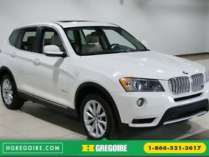 2013 BMW X3 35i AWD CUIR TOIT PANO MAGS NAVIGATION