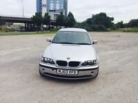 "BMW 320D ES 03/2003 PLATE """"19inch"""" M3 ALLOYS F/S/HISTORY """"112k""""FULL GREY LEATHER INTERIOR"