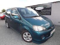 DAIHATSU YRV 1.3 AUTO F-SPEED PETROL GREEN