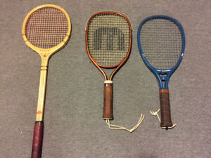 Racquetball and squash racquets