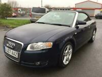 2007 AUDI A4 SPORT *CONVERTIBLE* 2.0 TDI *2 KEEPERS* SERVICE HISTORY