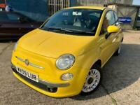 2009 Fiat 500 1.2 Lounge (s/s) 3dr Hatchback Petrol Manual