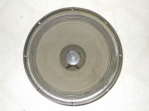 Peavey Eminence 15 inch Bass Speaker Vintage 1978 for Repair