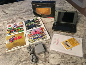 New Nintendo 3ds XL Hyrule Limited Edition + games