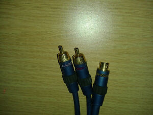 Quality S-Video / audio cables
