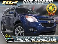 2010 Chevrolet Equinox LT One Owner | Sunroof | AWD