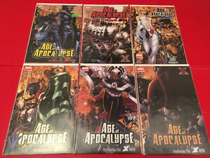 X-Men: Age Of Apocalypse (2005) 1-6 lot complete mini-series