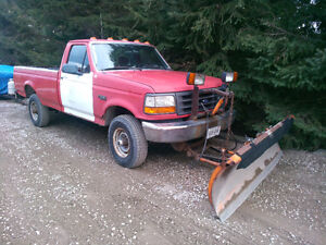 SNOW PLOW FOR SALE TRUCK  FREE